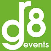 GR8 Events Logo